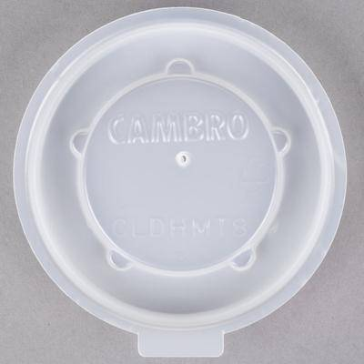 Cambro Disposable Translucent Lid for Dinex Heritage 8 oz. Mug or Insulated Tumbler - 2000/Case - Cambro CLDHMT8