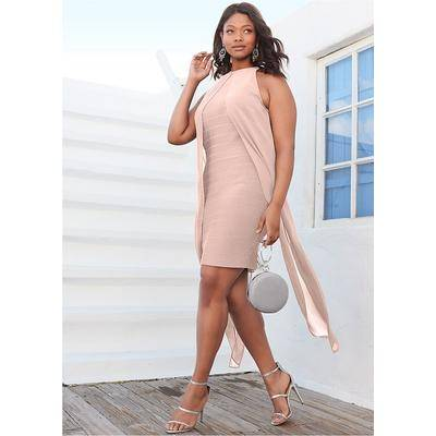 "Venus """"""Bandage Dress Dresses - Pink"""""""