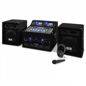 Electronic-Star Set Rack Star Sol Lightning DJ PA 1200W (PL-Sol)