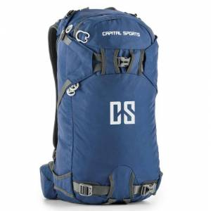 CAPITAL SPORTS Dorsi Mochila deportiva 30l impermeable nailon azul (BP2-Dorsi)