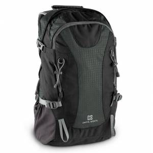 CAPITAL SPORTS Ridig Mochila de escalada 38l impermeable nailon negro (BP1-Ridig)