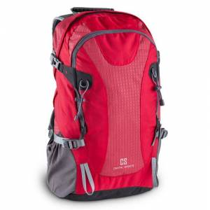 CAPITAL SPORTS Ridig Mochila de escalada 38l impermeable nailon rojo (BP1-Ridig)