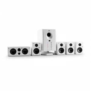 Auna Areal 525 WH Sistema de altavoces activo 5.1 AUX Blanco (MM-Areal 525 WH)