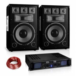 "Electronic-Star ""Warm Up Party"" 12PLUS Set PA serie Saphir (PL-10876-1182-2629)"