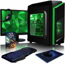 "VIBOX Killstreak GS550T-83 PC Gaming Computer con Voucher di Gioco, 22"" HD Monitor (3,5GHz Intel i5 Quad-Core Processore, Nvidia GeForce GTX 1050 Ti Scheda Grafica, 16GB DDR4 RAM, 2TB HDD, Senza OS)"
