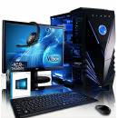 "VIBOX Galactic 38 PC Gaming Computer con War Thunder Voucher di Gioco, Windows 10 OS, 22"" HD Monitor (4,2GHz AMD FX 8-Core Processore, Nvidia GeForce GTX 1050 Scheda Grafica, 16GB RAM, 1TB HDD-SSD)"