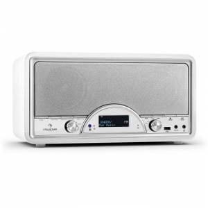 Virginia Digital Radio Bluetooth FM USB BK DAB / DAB + MP3 AUX branco