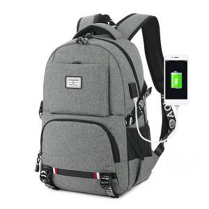 969bc85fe734 Newchic Oxford Business Casual USB Charging 18 Inches Laptop Bag Backpack  For Men Women