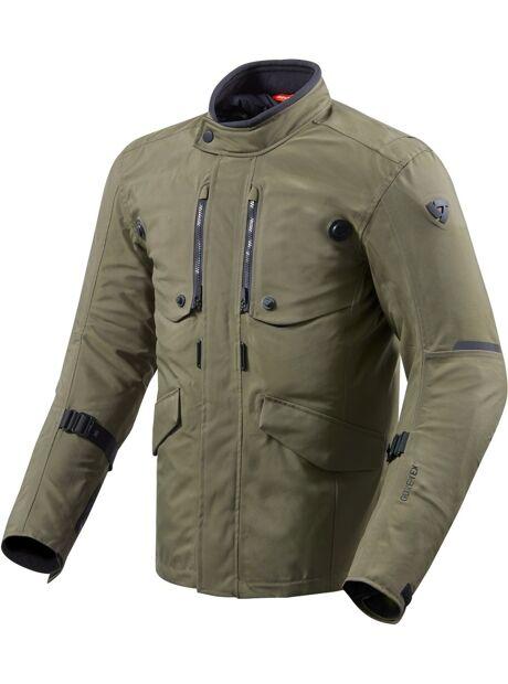 7aeb7a1b Se Revit Trench Gore-Tex Motorsykkel tekstil jakke Grønn XL hos ...