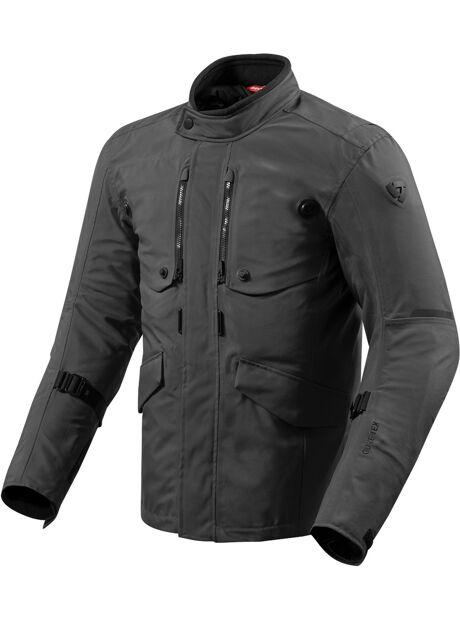 2d3404ee Se Revit Trench Gore-Tex Motorsykkel tekstil jakke Svart 2XL hos ...