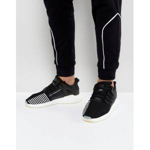 cheap for discount 4e59a ec7a8 ... coupon for adidas originals eqt support 93 17 trainers in black bz0585  black 37620 f651f