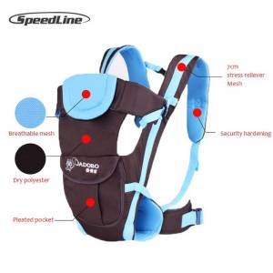 Speedline Breathable Front Facing Baby Carrier Sling Backpack Pouch Wrap  Baby Kangaroo New Egobaby Porte Bebe 5f932547d91