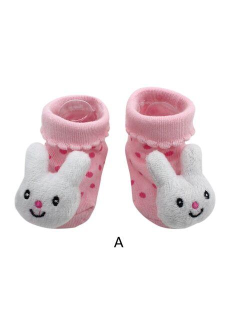 Cartoon Newborn Baby Girls Boys Anti-Slip Socks Slipper Boot Baby Girls  Socks Newborn Soft 8c10f3104e09