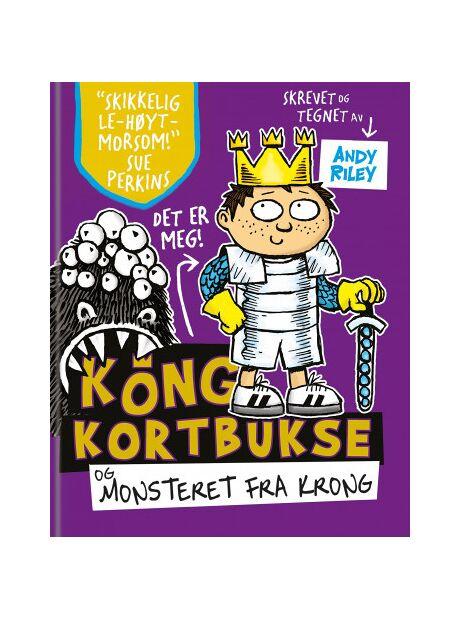 1c5f5189 Se TILBUD på Andy Riley Kong Kortbukse og monsteret fra Krong hos ...