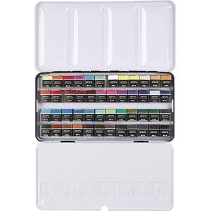 ART Aqua - Akvarelfarver Sæt - 48 Vandfarver