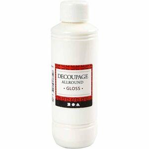 Creativ Company Decoupagelak, Blank, 250 Ml/ 1 Fl.