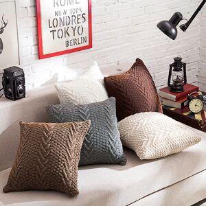 Newchic Fashion Knitting Throw Pillow Cases Cafe Sofa Cushion Cover Home Decor