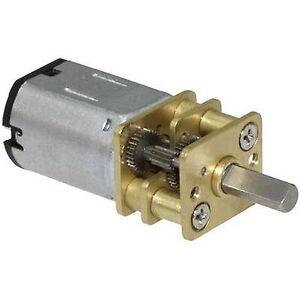 Sol Expert G1000-12V Micro overføring G 1000 stål cogwheels 1:1000 2-20 RPM
