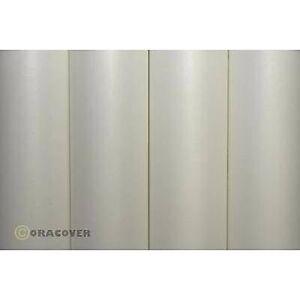 Oracover 10-000-002 deksel stoff Oratex (L x W) 2 m x 60 cm naturlig hvit