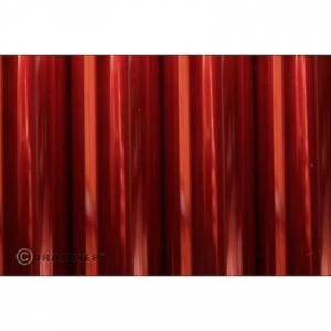 Oracover 21-029-002 jern-på-film (v x W) 2 m x 60 cm rød (transparent)