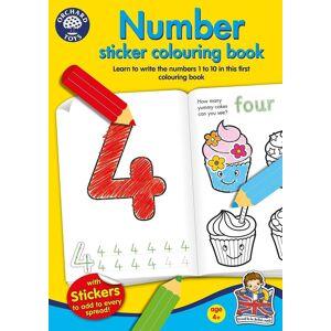 Orchard leker nummer klistremerke farging boken