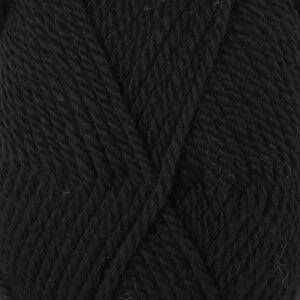Drops - Garnstudio Drops Alaska Garn Unicolor 06 Sort / Svart