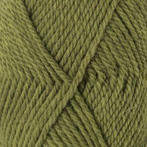 Drops - Garnstudio Drops Alaska Garn Unicolor 45 Lys Oliven