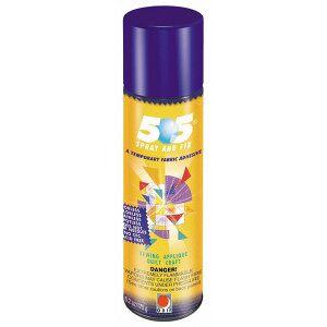 Diverse 505 Midlertidig Spraylim / Limspray / Tekstillim 250ml til patchwork,