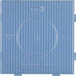 Hama Midi Perleplate Samleplate Firkant Transparent 14,5x14,5cm - 1 st