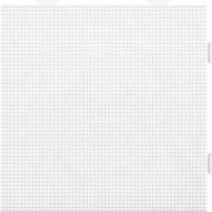 Hama Mini Perleplate 593 Samleplate Firkant Hvit 14x14cm  - 1 stk