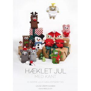 Diverse Hæklet jul med kant - Bok av Louise Grimm Hansen