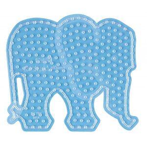 Hama Maxi Perleplate 8201 Elefant Transparent - 1 stk