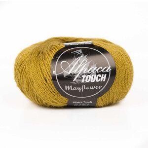 Mayflower Alpaca Touch Garn Unicolor 09 Oliven