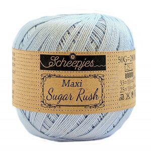 Scheepjes Maxi Sugar Rush Garn Unicolor 173 Blåklokke