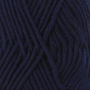 Drops - Garnstudio Drops Big Merino Garn Unicolor 17 Marineblå
