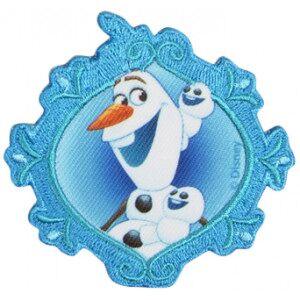 Diverse Disney Frost Strykemerke Olaf 7x7,5 cm - 1 stk