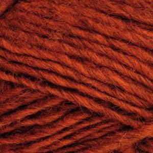 Ístex Álafoss Lopi Garn Unicolor 1236 Mørk Oransje