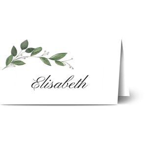 Optimalprint Bordkort, geometrisk, løv, vines, grønn, bordkort, brettet, Optimalprint