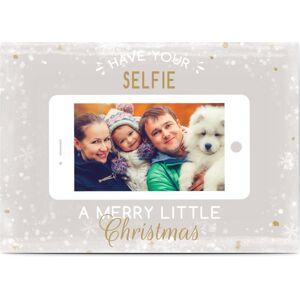 Optimalprint Julekort, fotokort (1 foto), mobil, telefon, selfie, smart, A6, flatt, Optimalprint