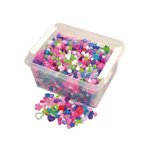 Plastpärlor storsats, 3000/fp