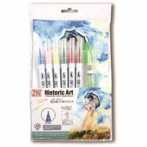 ZIG Clean Color Real Brush special set 5st