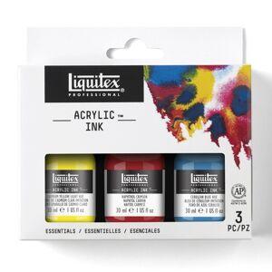 Liquitex Acrylic Ink Essentials 3-Set 30 Ml