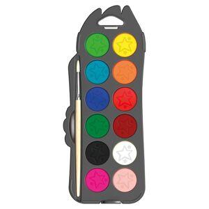 Maped Color'Peps Akvarellfärg 12-Set + Pensel (3 År+)