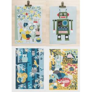 Posters A3 Robot
