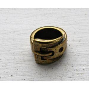 Mellandel Bronsfärgad - Bälte 13x10mm 1 styck