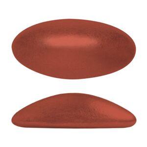 Athos® par Puca® - Bronze Red Matte 20x10mm, 1 styck