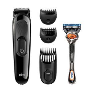 Braun Styling Kit SK3000 Beard Trimmer 5 kpl Hiustenleikkuukone