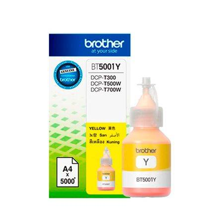 Brother Tinta Brother Yellow BT5001Y T300 T500W T700W T800W Original
