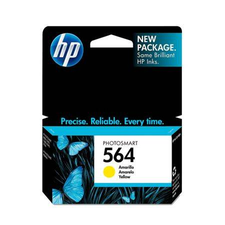HP Cartucho HP 564 CB320WL Amarelo Original 3 5ml