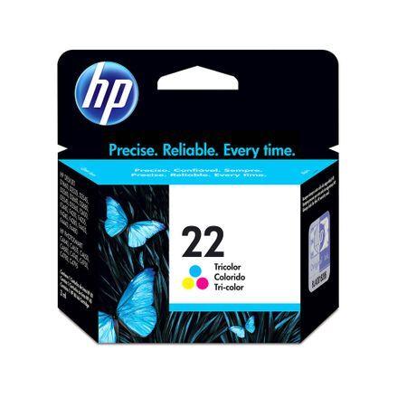 HP Cartucho HP 22 C9352AL Colorido Original 6ml